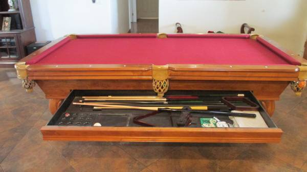 Solo 174 Tucson Pool Table With Dinning Table Top 49