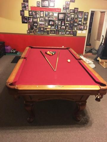 Solo 174 Chandler Beautiful C L Bailey Pool Table 34