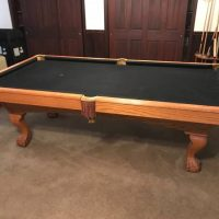 "Brunswick Pool Table, 4' X 8', 1"" Slate"