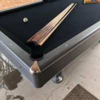 Three Piece Slate Pool Table