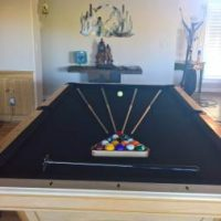AMF Playmaster 4 x 8 Preowned Pool Table
