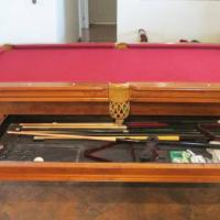 Pool Table With Dinning Table Top